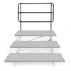 "Midwest Folding TFB48 TransFold Back Guard Rail for 3-Tier 48"" Standing Choral Riser"