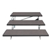 "Midwest Folding 3-Tier TransFold Standing Choral Riser, 48"" Wide"