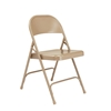 National Public Seating 51 Standard All-Steel Folding Chair, Beige