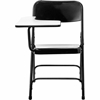National Public Seating 5210R Tablet Arm Folding Chair, Right Arm, Black