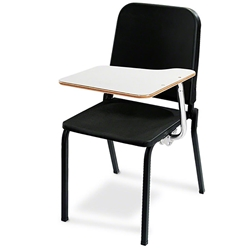 National Public Seating 8210/TA82L Melody Stack Chair with Left Tablet-Arm 8200 series, music chair, band chair, orchestra chair, school music chair, performers chair
