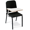 National Public Seating 8210/TA82R Melody Stack Chair with Tablet-Arm, Right
