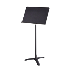 National Public Seating 82MS Melody Music Stand, Black tripod music stand, music room stand, orchestra music stand, school band music stand