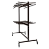 National Public Seating 84-60 Double-Tier Dolly for Hanging Folding Chairs & Coats
