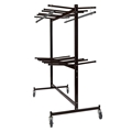National Public Seating 84-60 Double-Tier Dolly for Folding Chairs & Coats