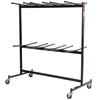 National Public Seating 84 Double-Tier Dolly for Hanging Folding Chairs