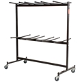 National Public Seating 84 Double-Tier Dolly for Folding Chairs