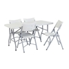 "National Public Seating 30""x60"" Folding Table & Chairs Package"