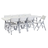 "National Public Seating 30""x96"" Folding Table & Chairs Package"