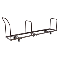 National Public Seating DY1400 Dolly for AirFlex 1410 Folding Chairs 1400, folding chair truck, folding chair dolly, folding chair trolley, airflex series, airflex dolly