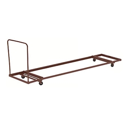 "National Public Seating DY-3096 Folding Table Dolly for Horizontal Storage (96"") 30x96 table storage, folding table storage, 8 foot table storage"