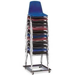 National Public Seating DY81 Dolly for 8100 Series Stack Chairs chair trolley, chair cart, 8110, 8118, 9000