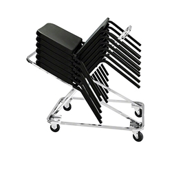 National Public Seating DY82 Dolly for Melody Stack Chairs melody music chair trolley