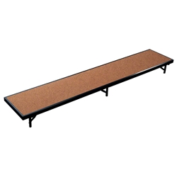 "National Public Seating RS8HB 8 Straight Standing Choral Riser, Hardboard, 8"" High choral risers, band risers, school risers, straight risers, choir stage risers, standing riser"