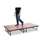 "National Public Seating TransFix 4'x8' Hardboard Stage Kit, 16""-24"" High - SDTFX32HB16"