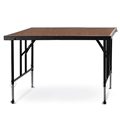 "National Public Seating TFXS48482432HB TransFix 4'x4' Stage Panel,  24""-32"" Height Adjustable, Hardboard"