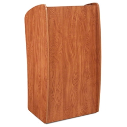 Oklahoma Sound 611 Vision Lectern, Cherry teaching lecterns, training lecterns, lecterns, non sound lecterns, school furniture, college furniture, university furniture, church