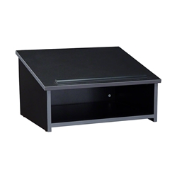Oklahoma Sound 22 Tabletop Lectern, Black 22-BK, table top lectern