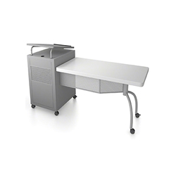 Oklahoma Sound EDPD Edupod Teachers Desk & Lectern Combo teaching desk, teaching lectern, desk lectern combo, edupod
