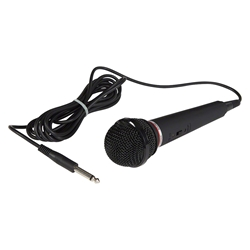 Oklahoma Sound MIC-2 Dynamic Unidirectional Microphone with 9 Cable wired microphone, standard mics, wired handheld microphone, lectern microphone, unidirectional microphone