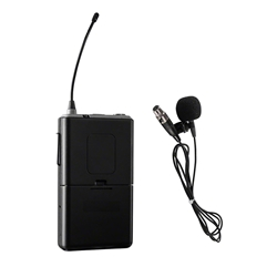 Oklahoma Sound PRA8-6 Wireless Mic for PRA-8000 - Tie-Clip/Lavalier wireless microphone, mic holder, standard mics, wireless tie-clip microphone, wireless lavalier microphone, PA microphone, PRA-8000