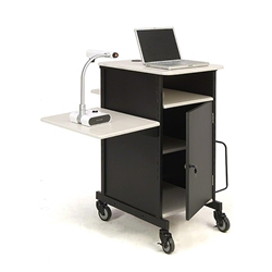 Oklahoma Sound PRC450 Jumbo Plus AV Presentation Cart av cart, a/v cart, audio visual cart