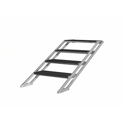 "ProFlex 4-Step Adjustable Stairs for Stages 23.75""-39.25"" High  portable stage steps, stairs"