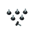 Staging 101 Screw-in Rubber Feet for Stage Legs (6-pack)