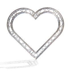 ProX F34 Square Frame Heart Truss Package - 3.75 Meters global truss, euro truss, eurotruss, dura truss, duratruss