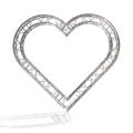 ProX F34 Square Frame Heart Truss Package - 3.75 Meters