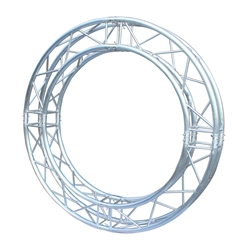 ProX F34 Square Frame Circle Truss Package (4 x 90° Segments) - 2 Meters SQ-C2-90, SQC290, global truss, euro truss, eurotruss, dura truss, duratruss