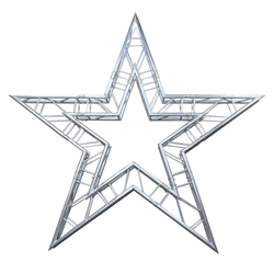ProX F34 Square Frame Star Truss Package - 3.3 Meters global truss, euro truss, eurotruss, dura truss, duratruss