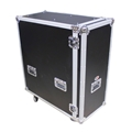 "ProX Rolling Flight Case for 36"" Truss Base Plates"