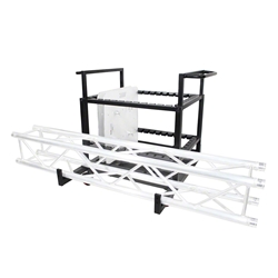ProX Rolling Dolly Cart for Truss Base Plates and F34 Truss global truss, euro truss, eurotruss, dura truss, duratruss,