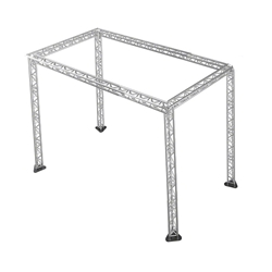 ProFlex 20x40 Trade Show Booth F33 Triangle Truss Package 20x40, 40x20, 20 x 40, 40 x 20 portable stage trussing